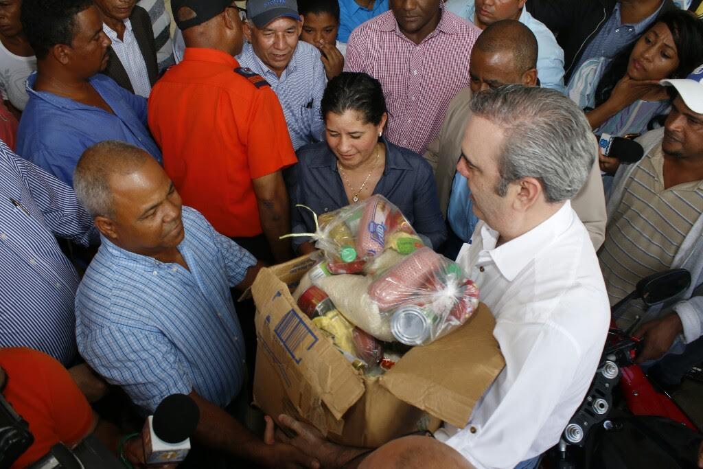 Abinader llama ser solidario con comunidades afectadas por lluvias