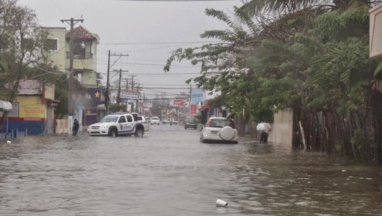 PUERTO PLATA: 500 viviendas inundadas por lluvias
