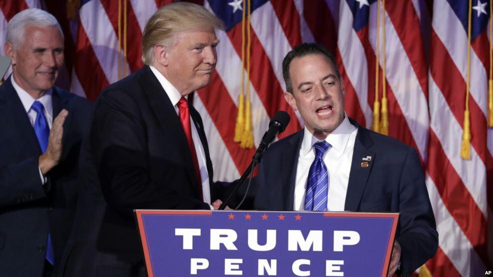 EEUU: Trump nombra a Reince Priebus su Jefe de Gabinete