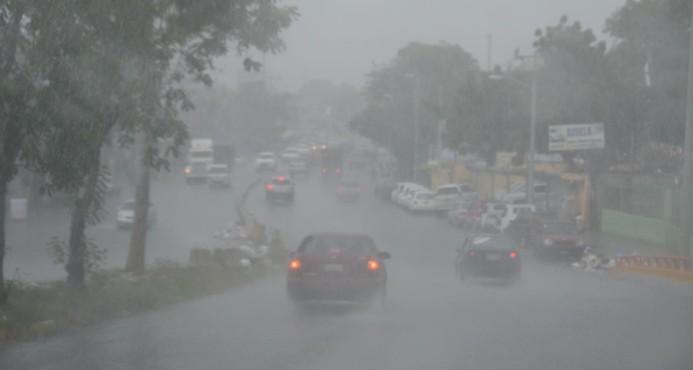 Onamet anuncia más lluvias para hoy