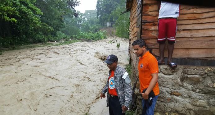 Aguaceros RD han desplazado a 18,874 personas y afectado 4,146 viviendas