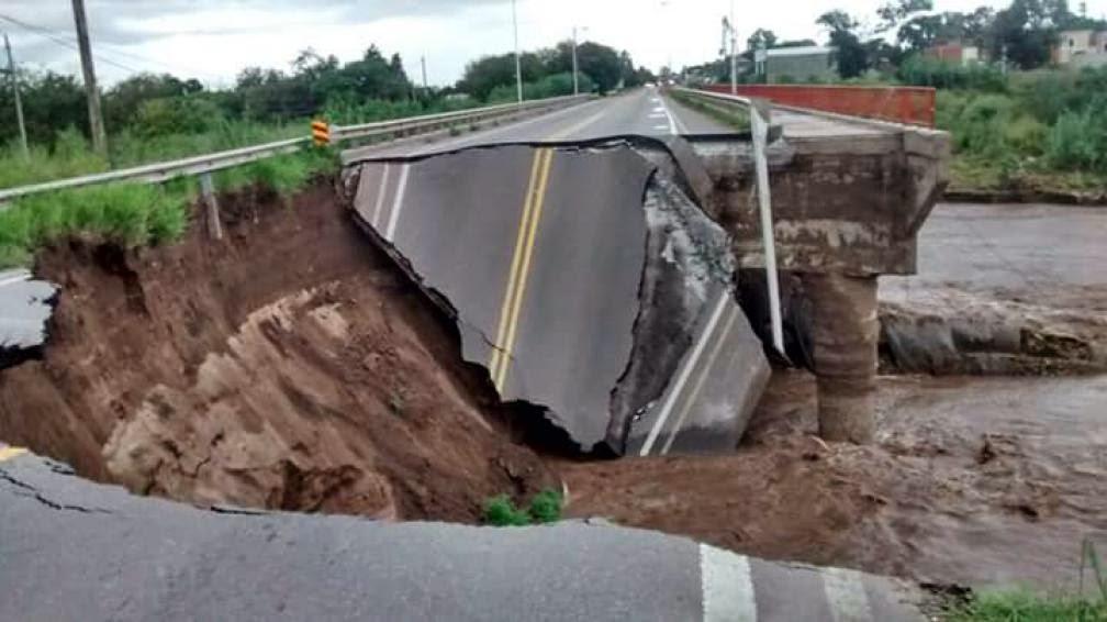 El Gobierno espera que las lluvias cesen para reparar infraestructuras dañadas