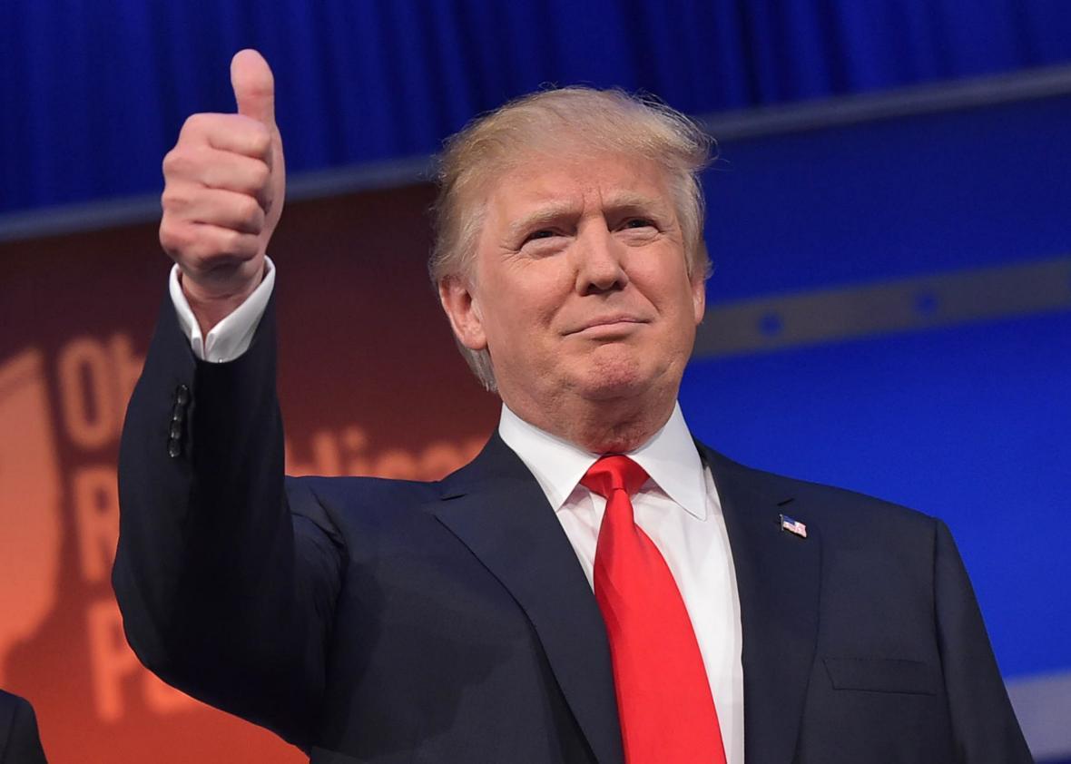 """EE.UU.: Donald Trump es elegido como """"persona del año"""" por la revista Time"""