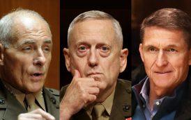 Trump llena su gobierno de generales