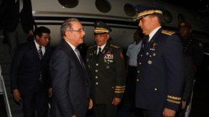 Danilo Medina regresa de Nicaragua, donde abogó por la unidad regional