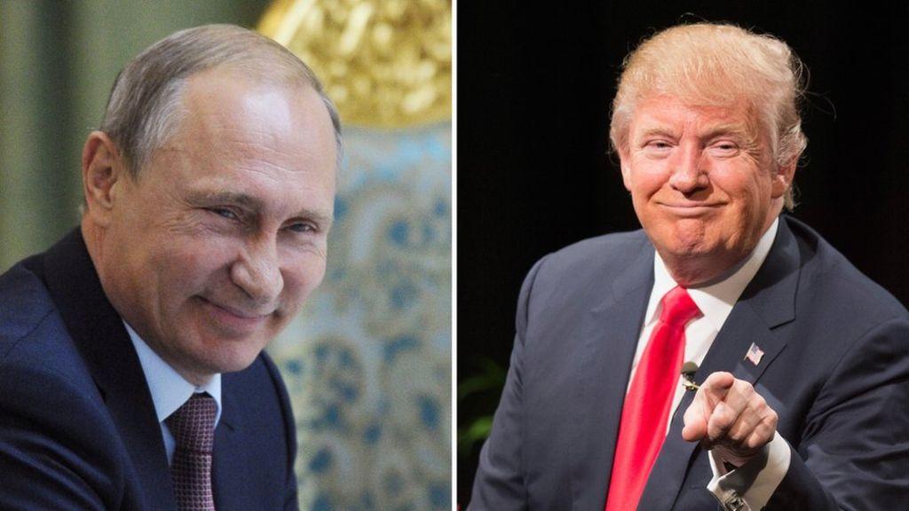 "RUSIA: Putin listo para reunirse con Trump ""en cualquier momento"""