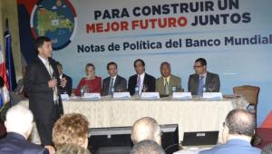 Banco Mundial elogia el crecimiento económico de la República Dominicana