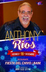 Anthony en conciertos una Navidad de Leyenda