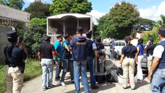 SOSUA: Apresan 11 extranjeros ilegales
