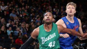 Horford, orgulloso Celtics