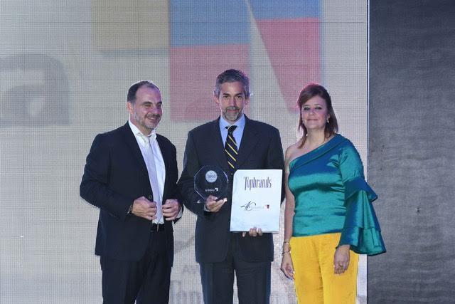 La Ibérica recibe reconocimiento Topbrands 2016
