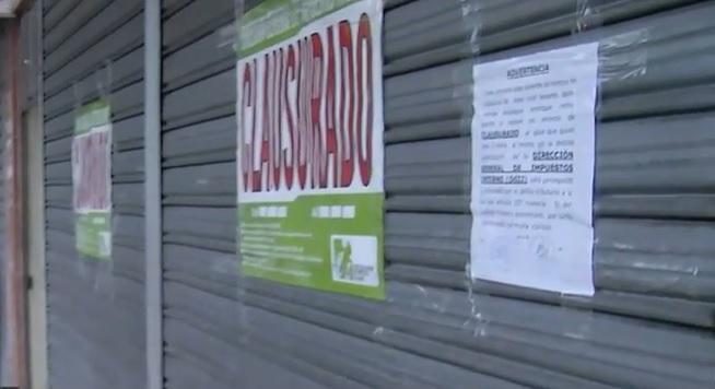 """DGII clausura 10 negocios habrían violado normas en """"Viernes Negro"""""""