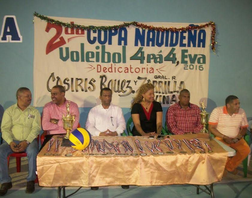 Torneo es dedicado a Zorrilla Ozuna y exvoleibolista