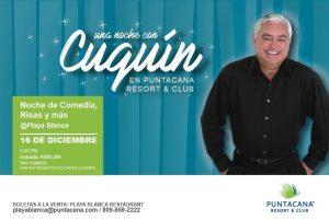 Una Noche con Cuquín Victoria en Puntacana Resort & Club