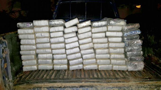 Incautan 341 paquetes de cocaína en Caucedo proveniente de Suramérica