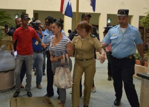 Fiscal DN deja detenida a compañera de Brayan Félix Paulino y Pércival Matos