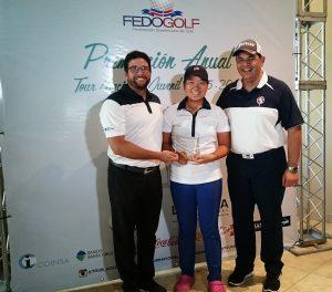 Fedogolf premia mejores atletas Tour Juvenil