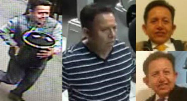 Identifican ladrón robó cubo con $1.6 millones en oro de un camión