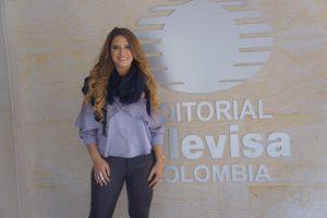 Nathalie Hazim de promoción en Colombia