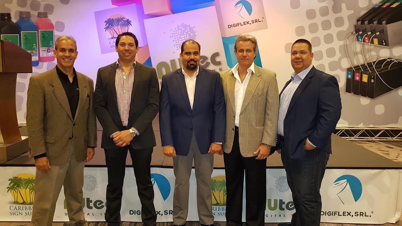 Digiflex y Caribbean Sign Supply distribuidores de Tintas Nutec