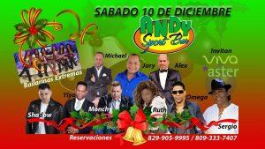 Merengue, salsa y música urbana para celebrar la Navidad