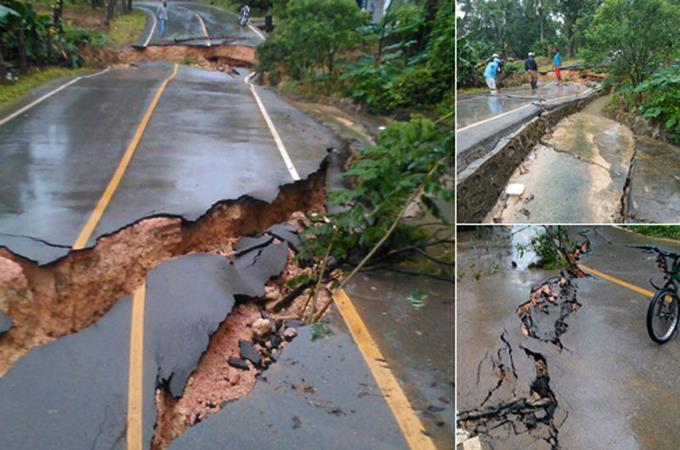 Reclaman Obras Públicas investigue deterioro vías reconstruidas hace poco