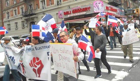 Dominicanos en Nueva York también exigen el fin de la impunidad