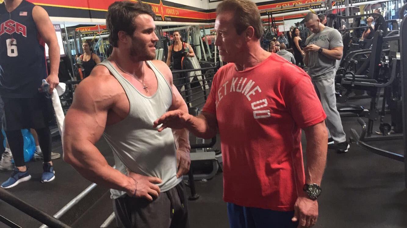 Arnold Schwarzenegger en cruzada por la salud