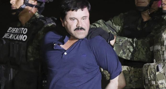 """México extraditó hacia los EE.UU. al narcotraficante """"El Chapo"""" Guzmán"""