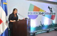 Diputada Karen Ricardo presenta plataforma tecnológica #QuieroEmpoderarteRD
