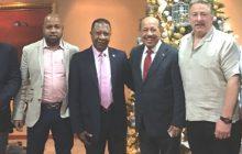 Empresarios NY visitan  Ministro Industria y Comercio en RD