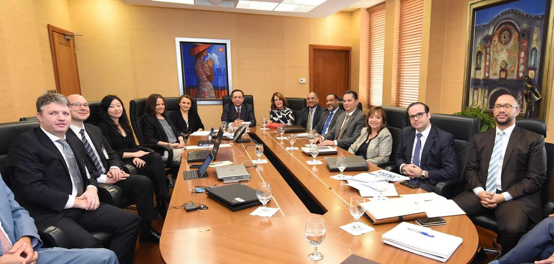 Autoridades Banco Central se reúnen con una misión del Fondo Monetario