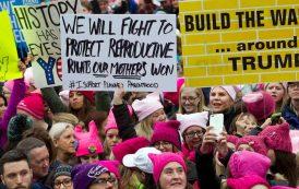 EE.UU: Miles de Mujeres marchan para decirle a Trump que no las callarán