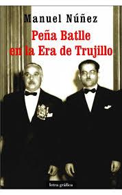 Peña Batlle y Trujillo en la portada del libro de Manuel Núñez.