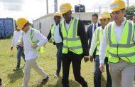 Presidente electo Haití visita centrales energía eléctrica en Rep. Dominicana