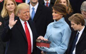 Donald Trump jura el cargo y se convierte en el presidente número 45 de los EE.UU.