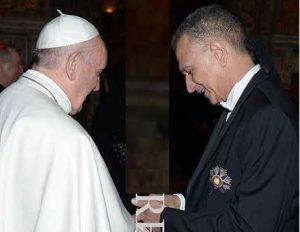 VATICANO: Embajador RD entregó al Papa imagen de Virgen