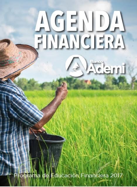Banco Ademi distribuye agendas financieras