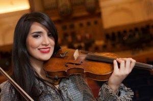 Violinista Aisha Syed actuará espectáculo NY