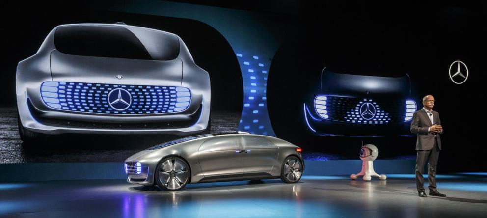 Una feria en Las Vegas abre las puertas a los automóviles del futuro