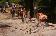 MOCA: Reparan puentes afectados por lluvias