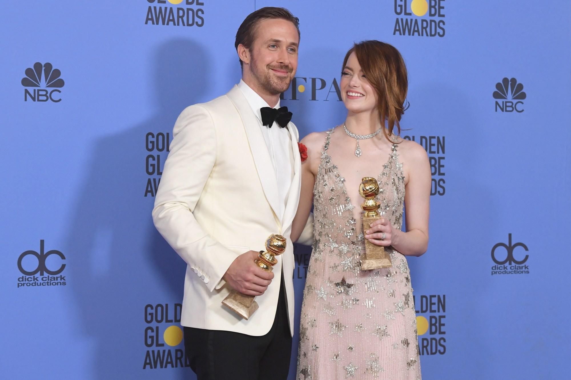 Favoritos se llevan las estatuillas premios Golden Globes 2017