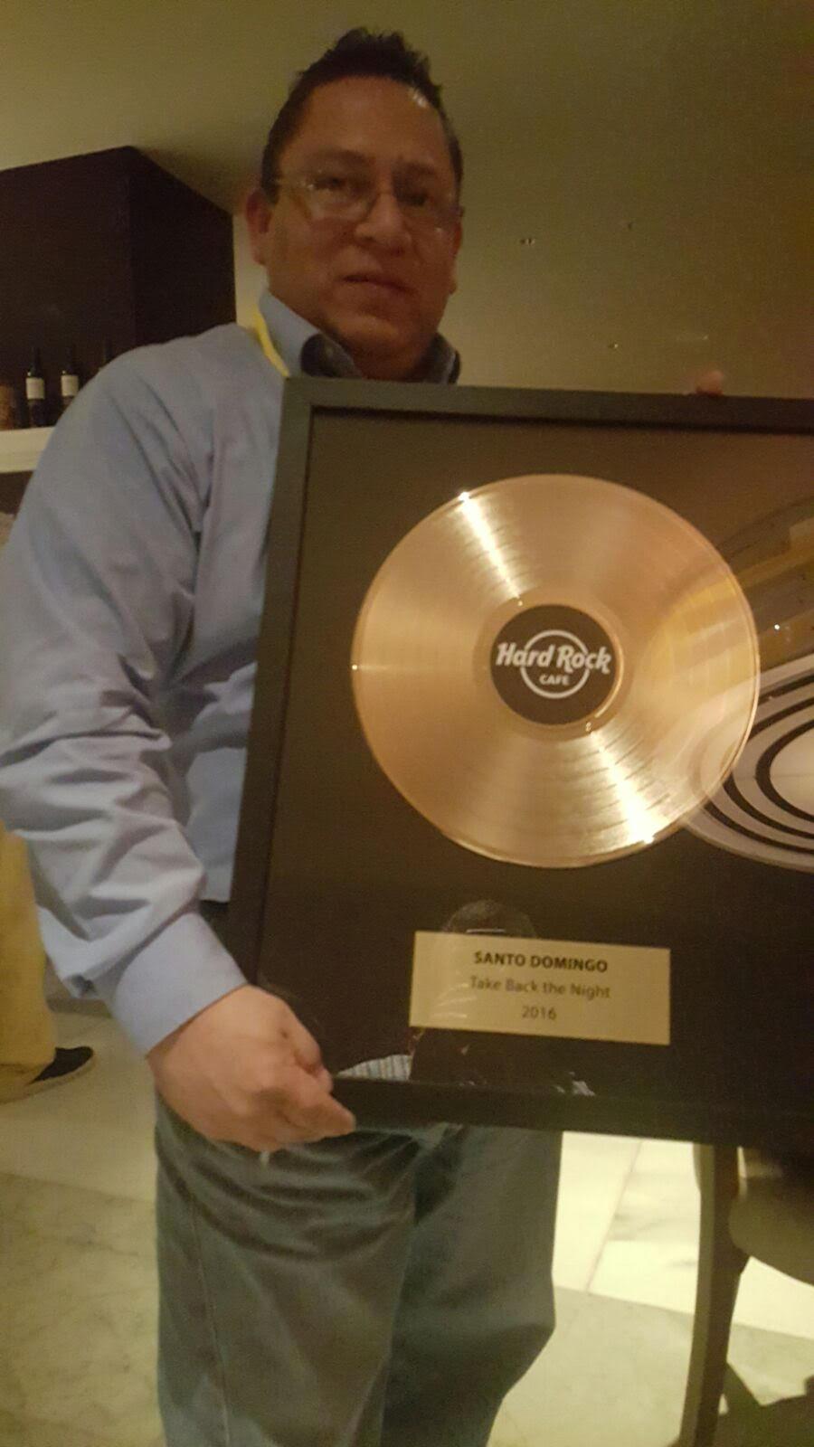 Hard Rock Cafe SD es reconocido en Panamá