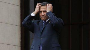 PERU: Ex presidente Ollanta Humala impedido viajar fuera por caso Odebrecht