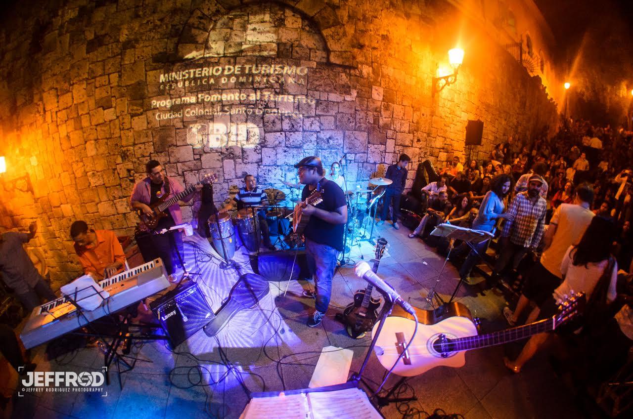 Joshy & su 4 Jazz en la Ciudad Colonial