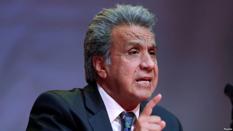 ECUADOR: Presidente Lenín Moreno llama consulta para reelección
