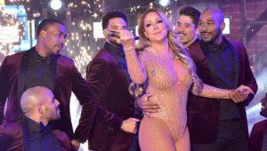 Mariah Carey realiza desastrosa actuación en Times Square