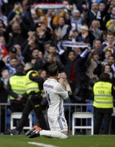 Real Madrid se impone al Málaga en Liga Española