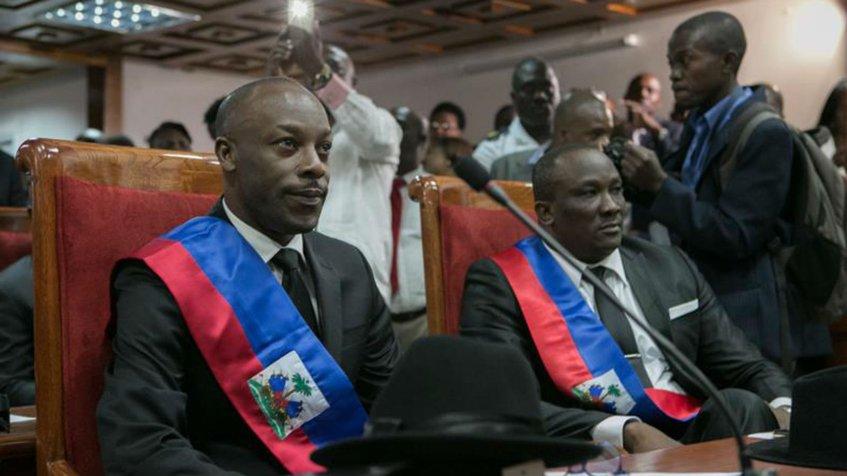 Agitaciones en Haití protagonizan toma de posesión de senadores