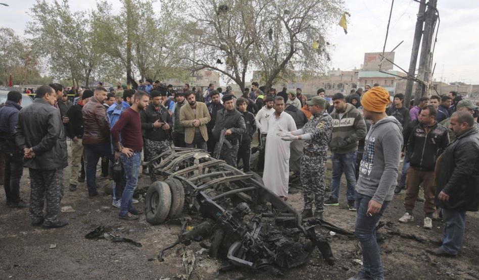 IRAK: Chofer suicida detona camioneta bomba y mata 36 en mercado Bagdad